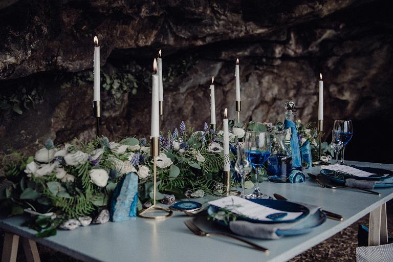 foto baumann Styled Shoot Boho Geode Wedding